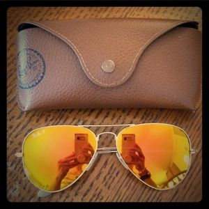 Ray Ban Aviator - Polarized lenses